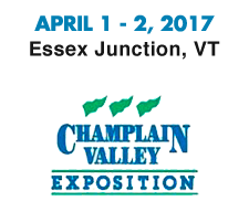 April 1-2, 2017 at Champlain Valley Expo